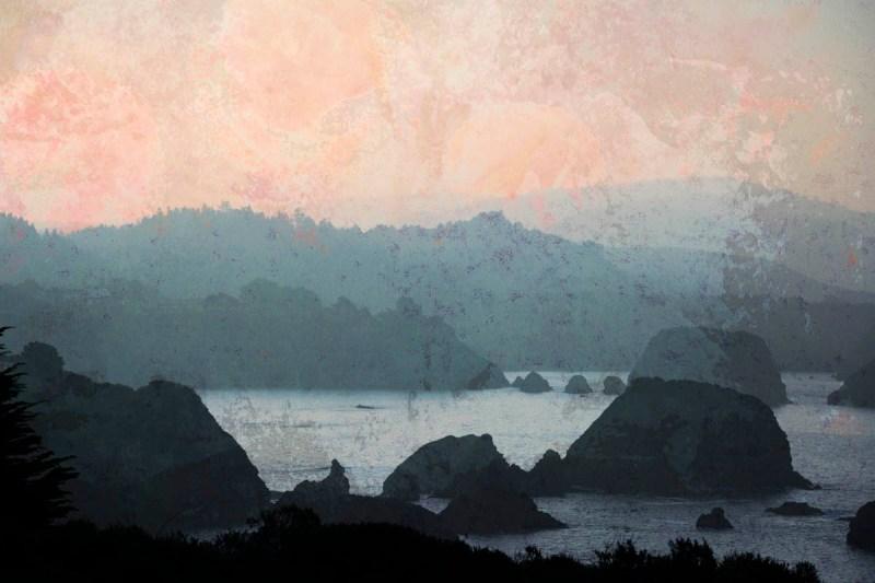 Digital collage, 21 layers © 2019 Liz Ruest