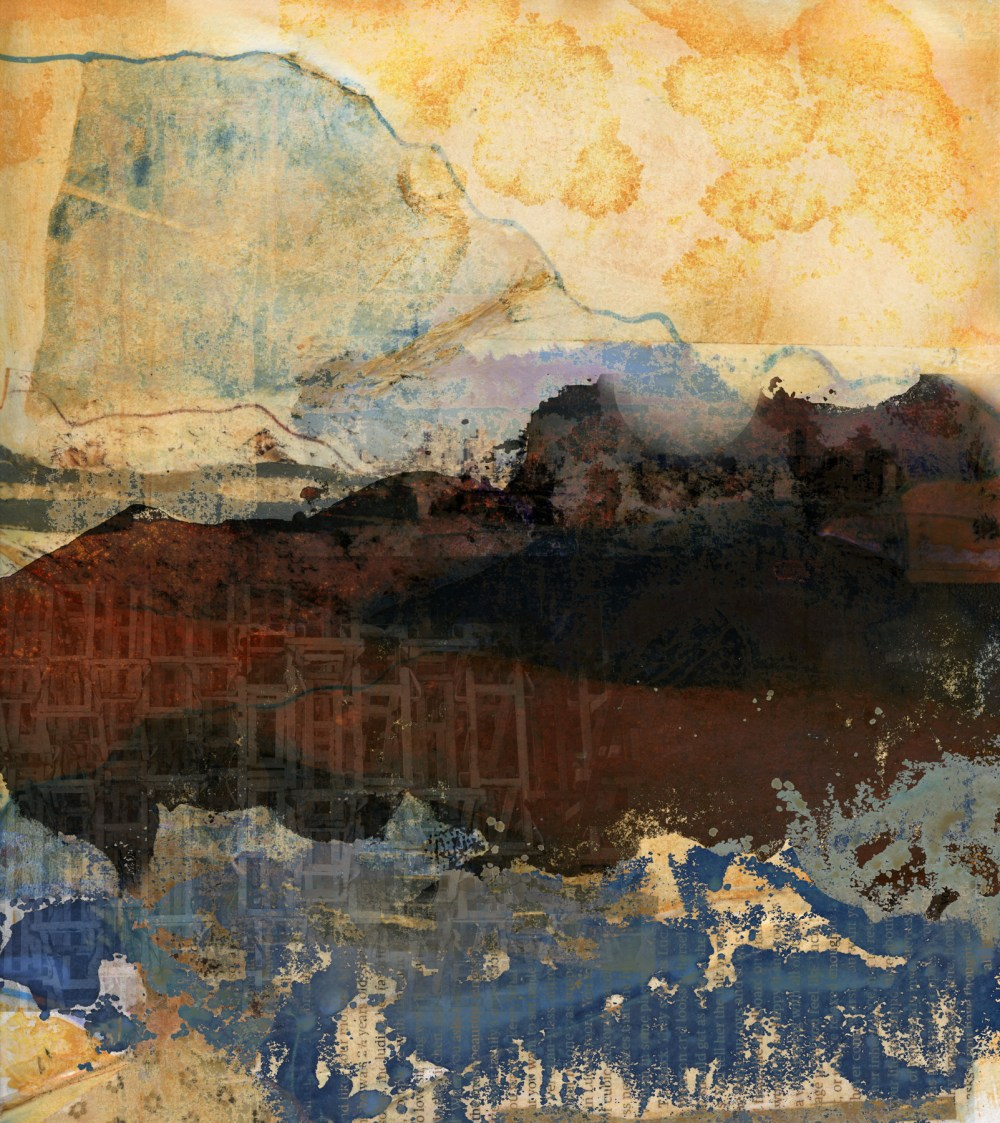 a wider sense of home: Digital collage, 12 layers © 2021 Liz Ruest