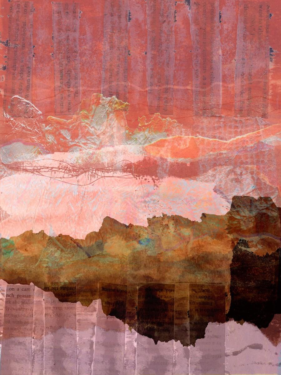 an infinite cloak of air: Digital collage, 10 layers © 2021 Liz Ruest