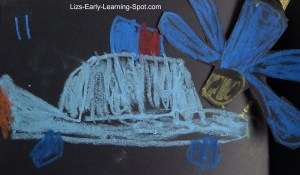 Make an interactive picture book (Liz's Early Learning Spot)