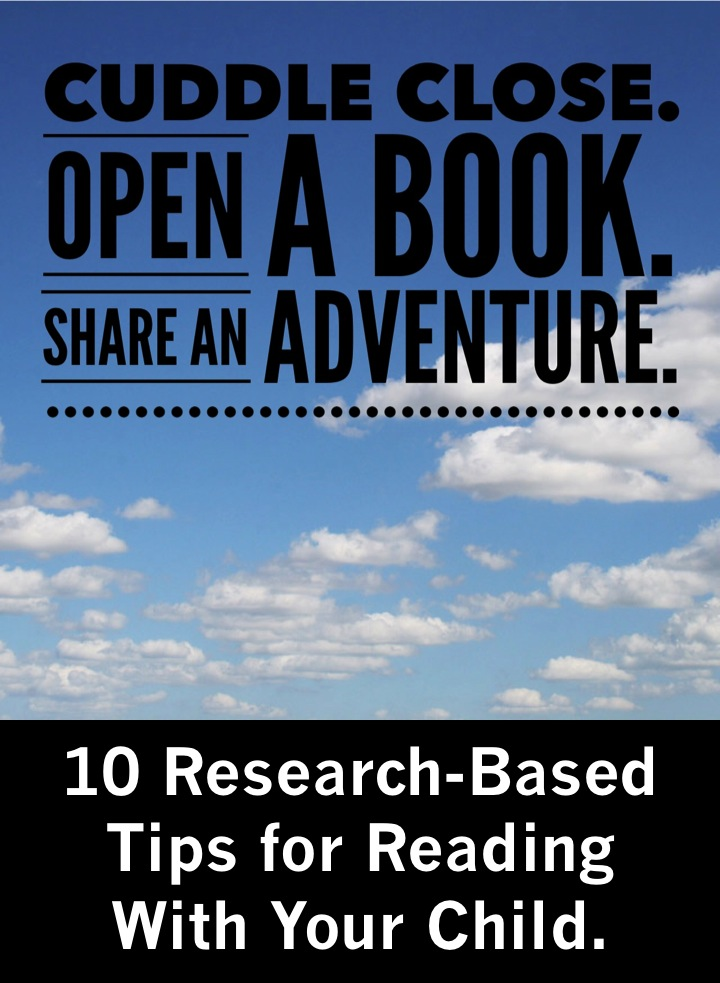 10 research-based tips for reading with your child (Liz's Early Learning Spot)