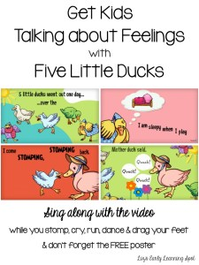 Talking about Feelings with Five Little Ducks