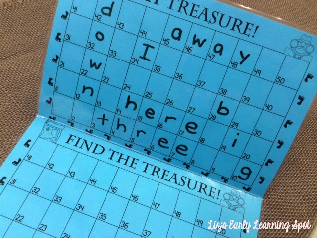 Your kids will love to battle their friends for these sight words. Great for number sense, too. (Liz's Early Learning Spot)