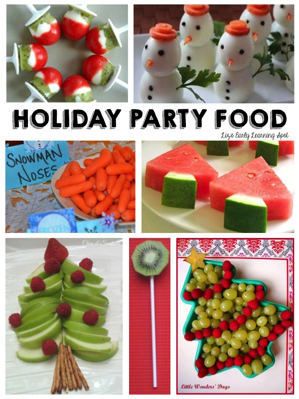 Healthy party food for Christmas