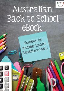 Australian Back to School Free eBook