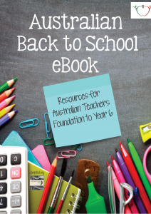 Australian Back to School Free eBook