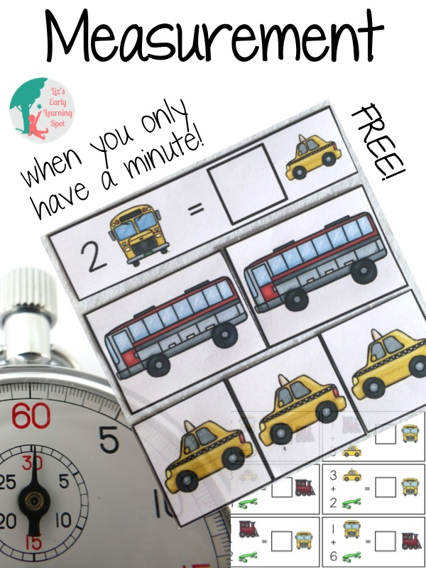 Practice measuring lengths with these sweet transport cards. Free download.