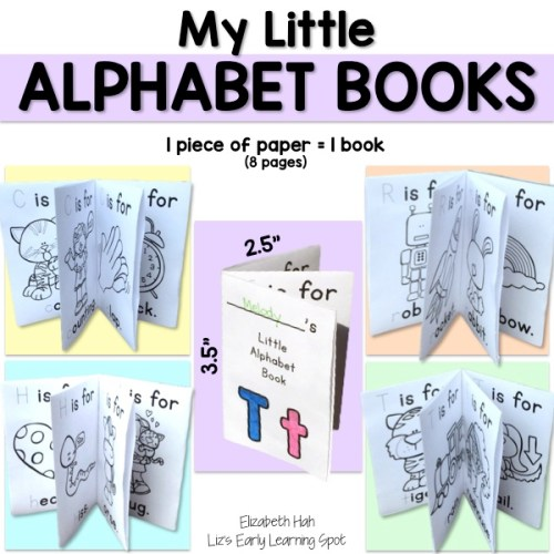 Sweet little alphabet books for your kids!