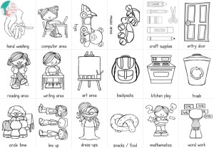 Where are all these areas in our classroom? Let's find them with this free download!