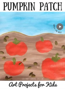 Art Projects for Kids: Pumpkin Patch