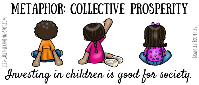 A strong society needs excellent care for young children.
