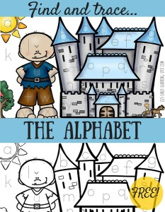 Find and Trace the Alphabet