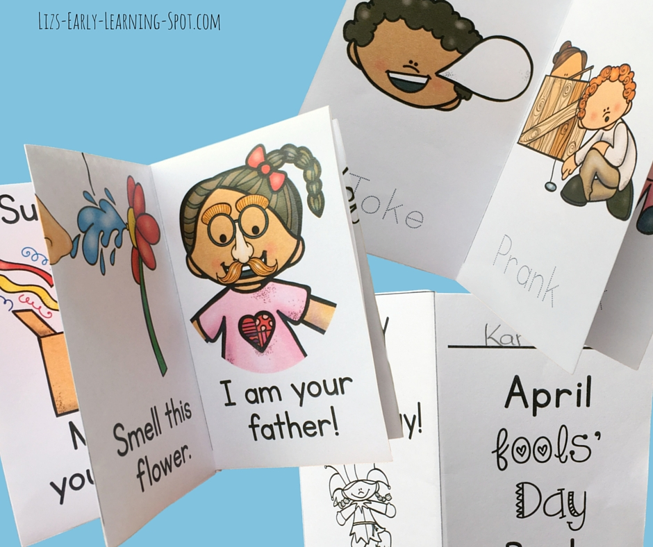 Here are some sweet and free little readers with an April Fools' Day theme!
