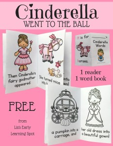 Cinderella Readers and Vocabulary Books