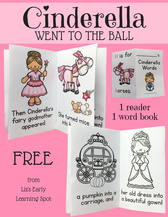 Cinderella is off to the ball in these free readers. Pick up this much loved fairy tale and get reading!
