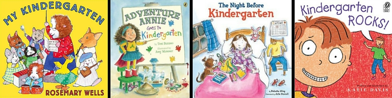 Recommended picture books that help with school readiness!