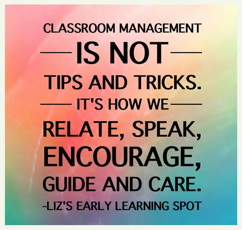 Classroom management encompasses everything that goes on in a classroom, it's not just about behaviour modification!