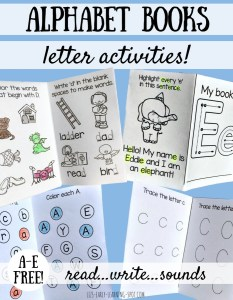 Free Alphabet Activity Books