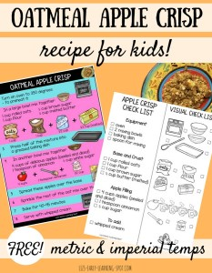 Oatmeal Apple Crisp: A Recipe for Kids