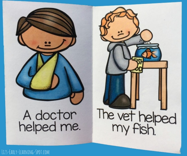 Community helpers are so important to our communities. Download these free readers and start a discussion with your kids!