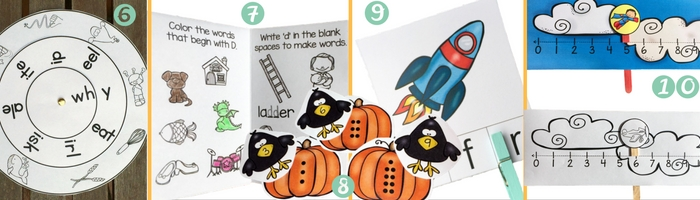 Have you grabbed these popular free printables from Liz's Early Learning Spot?