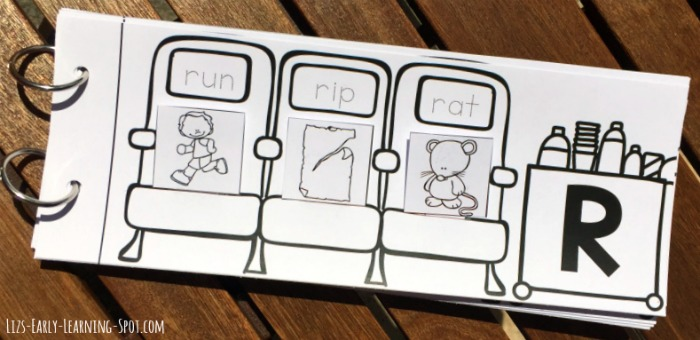 Can your kids match the pictures and words? Let them try with this free flip book!