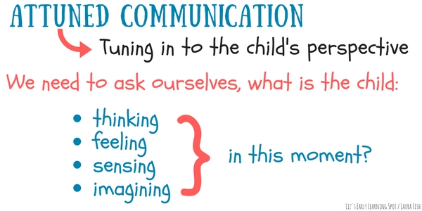 Attuned communication means tuning in to what our kids are feeling. Listen to how it helps with classroom management!