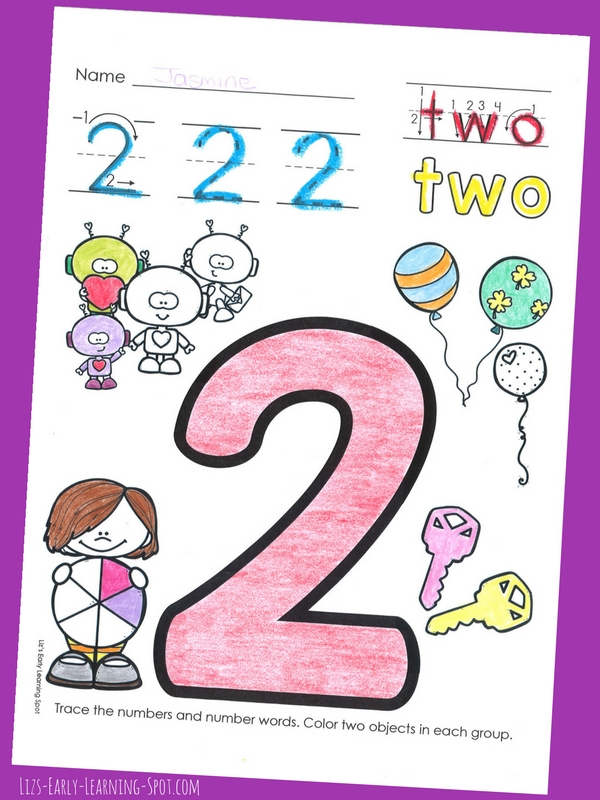 Practice counting and writing 1-10 with these free activity sheets!