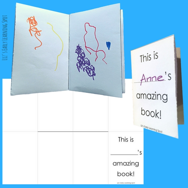 Use these free little books to encourage your kids to scribble and chat. It's terrific for their development.