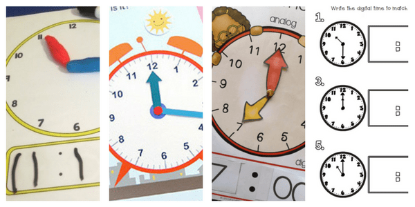 Free activities combining digital time and analog time!