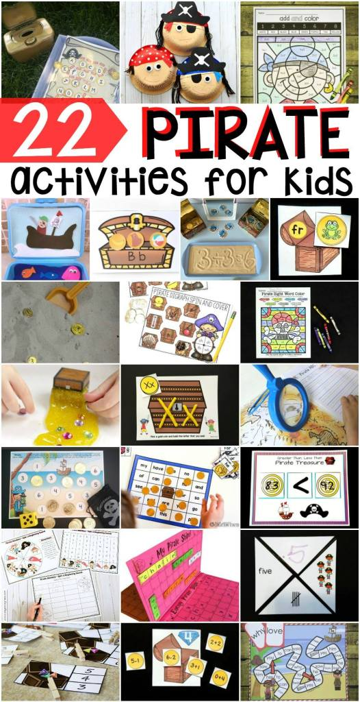 Check out all these brilliant pirate-themed learning activities!