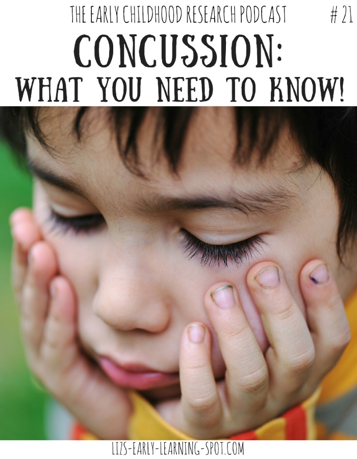 All the essentials you need to know regarding concussion in young children. Includes links to many resources, free posters for kids and a video explaining concussion to children!