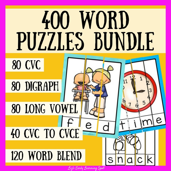 Wow! Hundreds of word puzzles kids will love!
