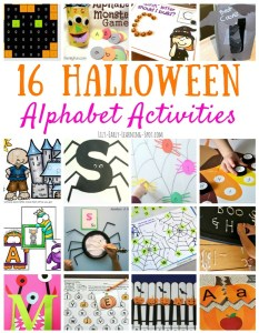 16 Halloween Alphabet Activities