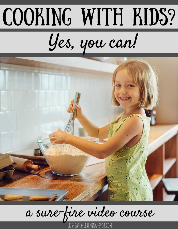Cooking with kids can be stressful but this video course makes it easy-peasy. Differentiated for kids from 2 to 12 years of age!