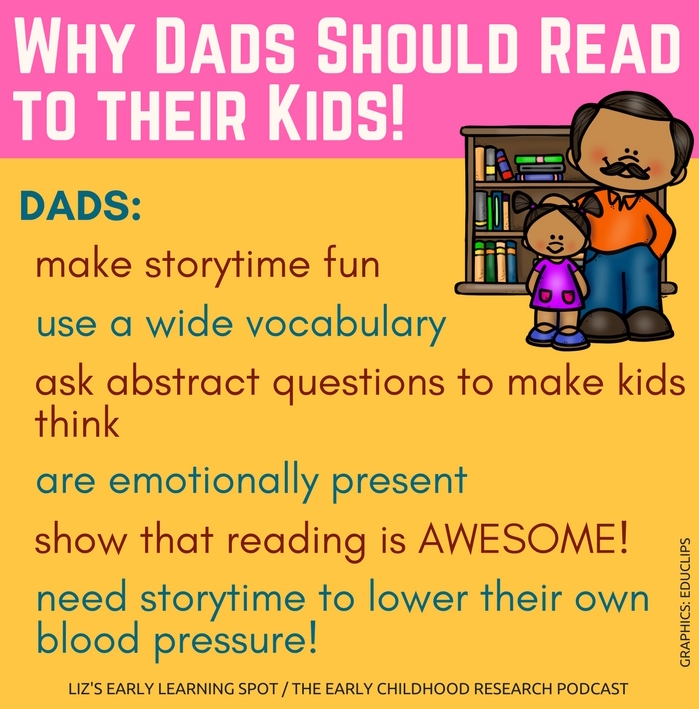 There are tons of benefits for kids when dads take on storytime!