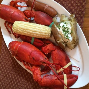 Maine style Lobster bake