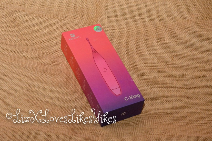 C-King by Kiss Toy  Review by Liz BlackX for LizxLovesLikesYikes