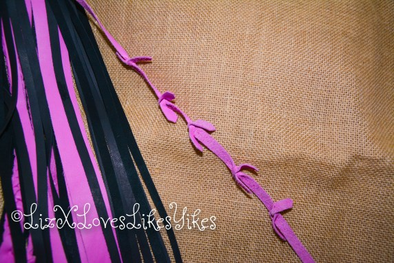 Pink Multi-stranded Flogger Nelliesz Copyright LizXLikes.com
