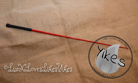 'El Bastardo' - caning implement by Mchurt.eu  Review by LizXLikes.com Copyright LizXLikes