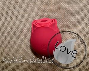 Review of PHANXY Rose Vibrator, Sucking Vibrator Copyright Liz BlackX