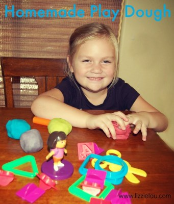 Make Easy Homemade Play Dough With Your Little Chef