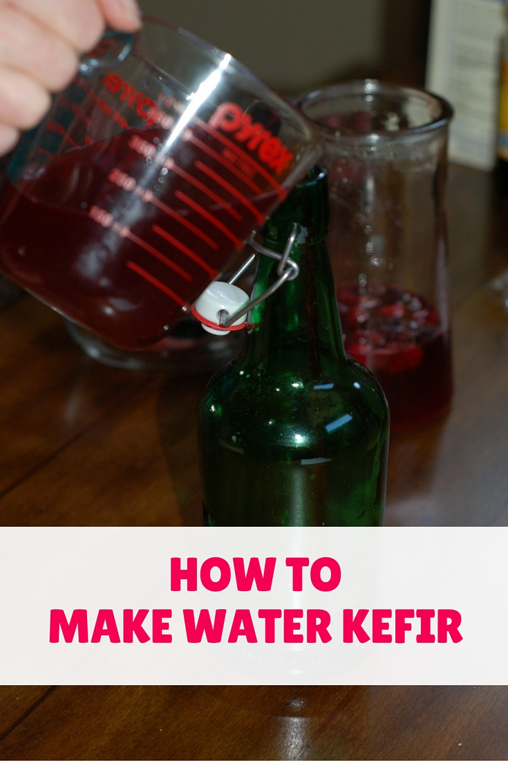 how to make water kefir - it's easy