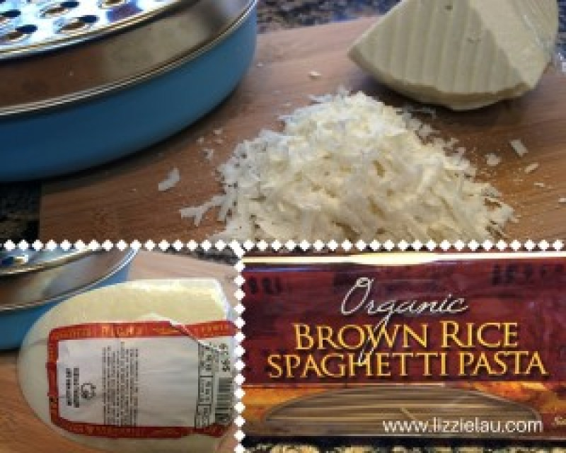 easy italian inspired pasta dish with bertolli marinara and mizithra cheese