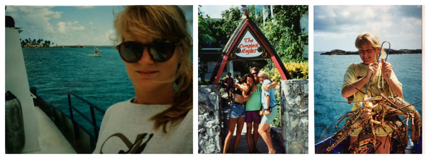 Bahamas 1992 collage 1