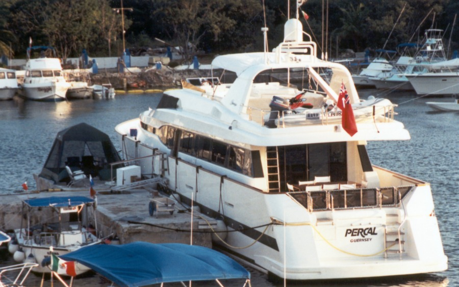 The Percal takes over the Cozumel Marina