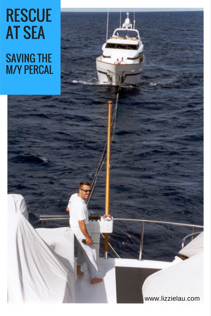 saving the Percal - rescue at sea