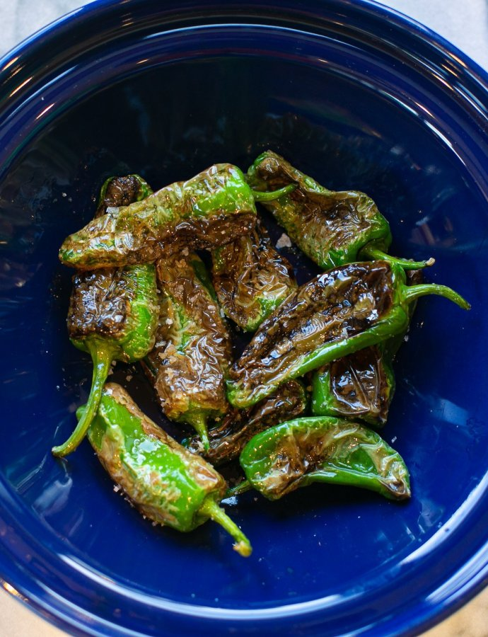 Salty Padron Peppers
