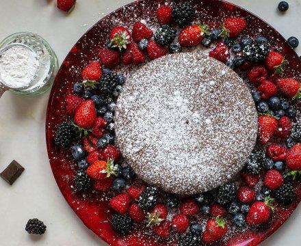 Chocolate and Amaretti Cake
