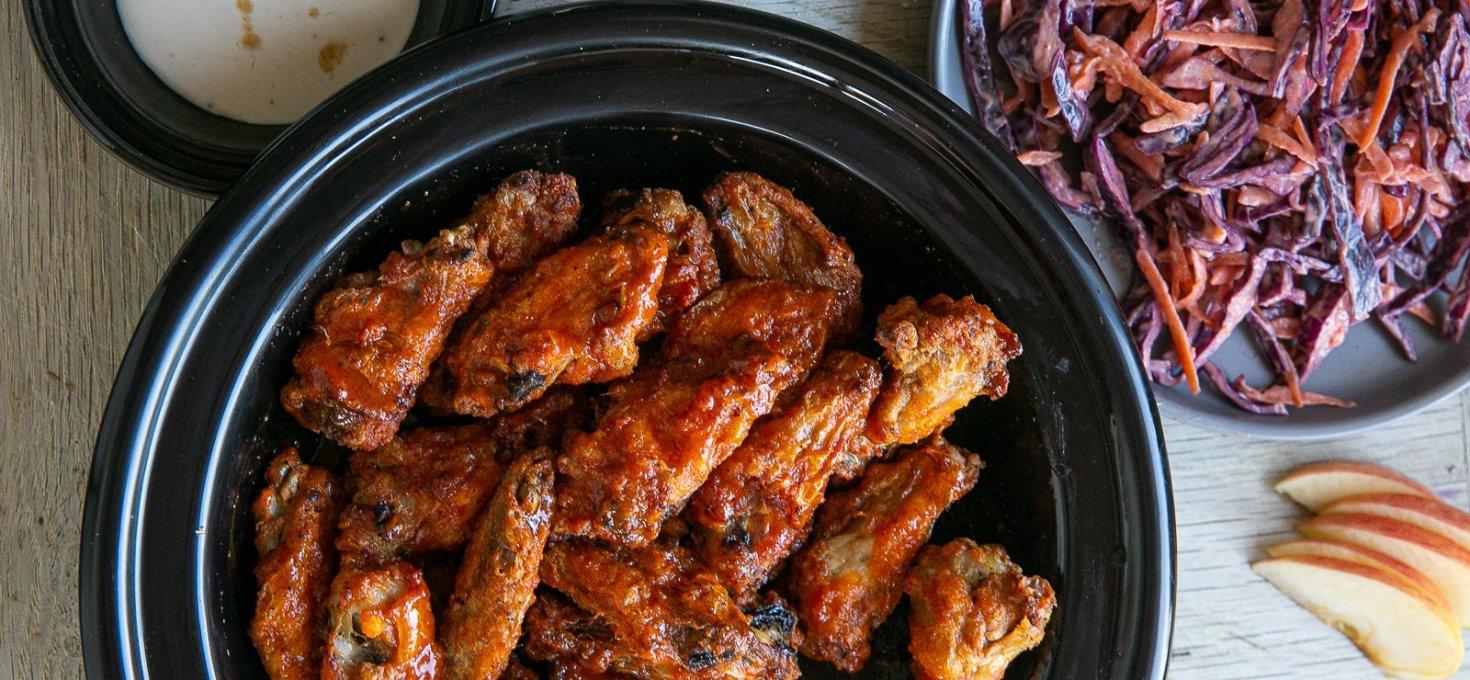 Oven-Cooked Crispy Buffalo Wings